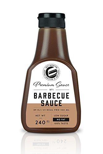 Got7 Premium Sauce No.1 Soße Grillsoße Perfekt Zur Diät Abnehmen Fitness Bodybuilding 240ml (BBQ)
