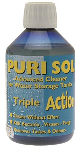 Clean Tabs Puri Sol Avanzada Limpiador de Agua–Azul, 300ml