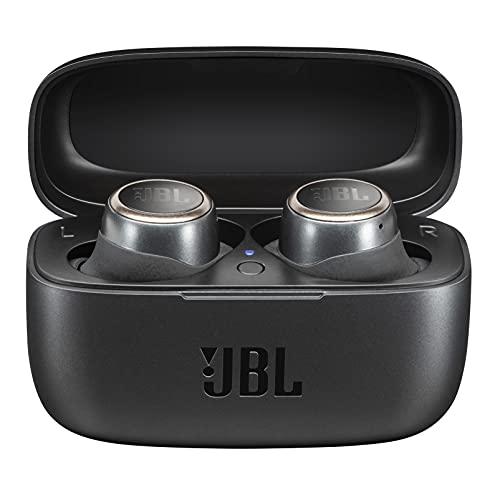 JBL LIVE 300TWS Auriculares inalámbricos intraaurales, con Bluetooth y tecnologías TalkThru y AmbientAware, hasta 20h de música, negro