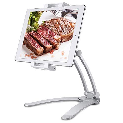 TopCraft Tablet-Halterung für die Küche, 2-in-1 Küchentablet-Ständer,...