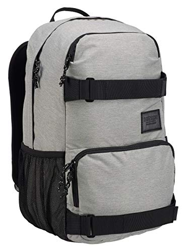 Burton Treble Yell Mochilas, Unisex Adulto, Gray Heather,