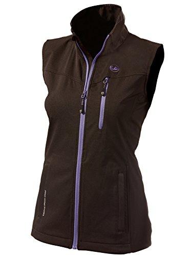 Ultrasport Gilet pour femme XS noir/violet