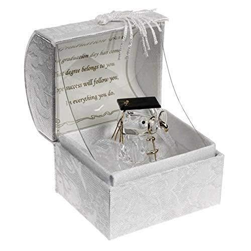 Glas Graduation Teddy Memento Geschenk ein ideales Geschenk zu sagen, Congratulations und persönlichen frei Kerze Karte von Cellini