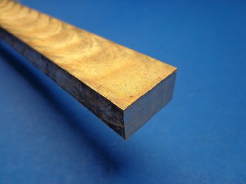"Industrial Metal Sales - 954 Bronze Flat Bar 1/2"" x 1"" x 12""-Long"