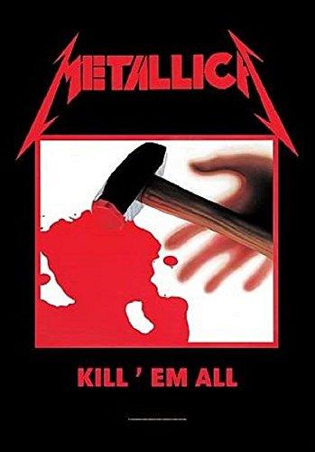 Kill Em All Textil Poster