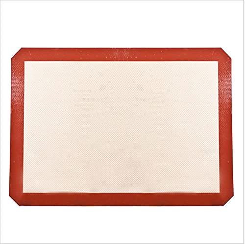 Estera para hornear de silicona - Revestimiento de silicona para PANTENERA BAKE & ROLLING- MACARON/PASTRÍA/CALIENTE/BUNQUILLO/PAN PRINCIPAL - Normal de grado profesional (Color : 29 by 26cm)