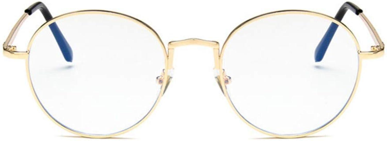 Antibluee Radiation Glasses Retro Personality Fashion Eye AntiFatigue Flat Glasses no Degree
