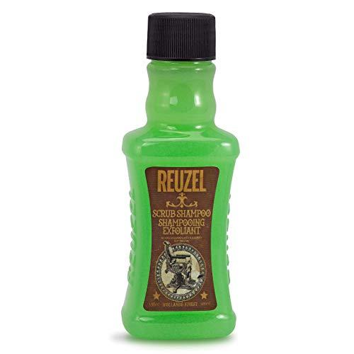 Reuzel - Scrub Shampoo - Shampoonierendes Peeling - Geeignet für alle Haartypen - Reinigt Haar & Kopfhaut - Entfernt Produktablagerungen - Haut-Peeling - Reduziert Irritationen - Frisches Aroma - 3.38 oz/100 ml