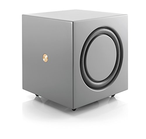 Audio Pro Addon C-SUB Aktiver Bass-Reflex Subwoofer (200 Watt, Multiroom, WLAN) Grau