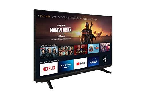 Grundig Vision 7 - Fire TV (65 VAE 70) 164 cm (65 Zoll) Fernseher (Ultra HD, Alexa-Sprachsteuerung, HDR) [Modelljahr 2020]