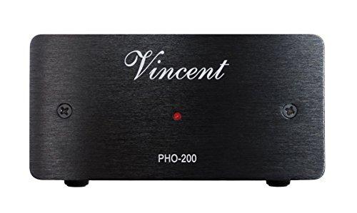 Vincent PHO-200 Phono Vorverstärker, schwarz