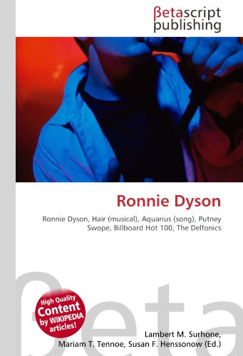 Ronnie Dyson: Ronnie Dyson, Hair (musical), Aquarius (song), Putney Swope, Billboard Hot 100, The Delfonics