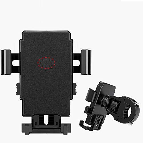 Ncheli Soporte Universal para teléfono móvil para Bicicleta o Motocicleta, desmontaje, para Bicicleta de Carretera, MTB, Scooter, con Giro de 360 Grados, para Smartphone de 3,5 a 7,0 Pulgadas