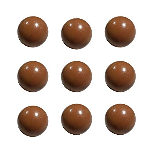 Skee Ball Complete Set of 9 Brown Replacement