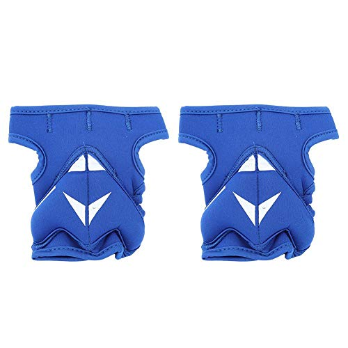 VGEBY 2Pcs 2lb Weighted Gloves Unisex Guantes de Medio Dedo Guantes de...