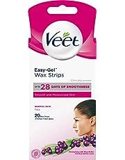 Veet Wax Strips Ansikte, 20st – vaxremsor för känsliga områden