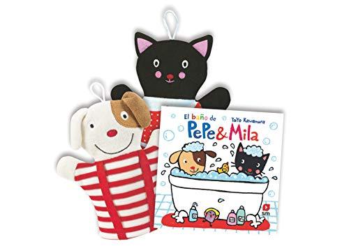 Pack de El baño de Pepe & Mila + manoplas (Pep & Mila)