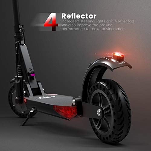 urbetter Trottinette Electrique Scooter Électrique Moteur de 350W Pliable et Réglable en Hauteur Vitesse jusqu'à 30kmh pour Ados et Mixte Adulte - S1 Pro (A Noir)