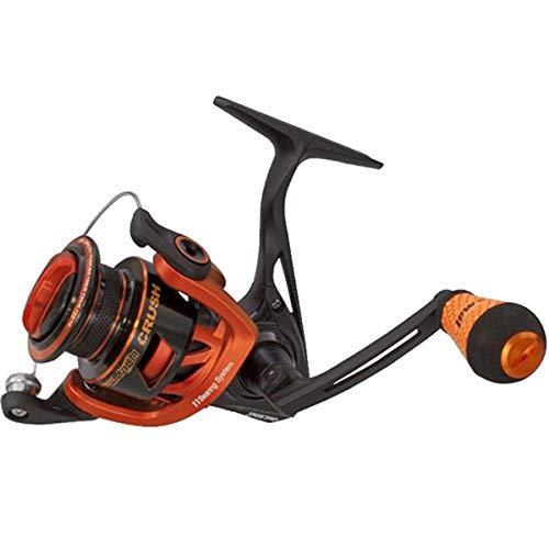 Lews Fishing MCR300 Mach Crush Speed Spinning Reel, 300 Reel Size, 6.2: 1 Gear Ratio, 32