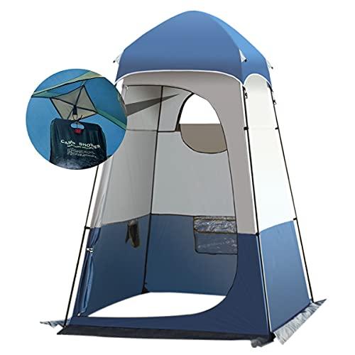 Qdreclod Camping Duschzelt Draussen Tragbar Umkleidezelt Toilettenzelt Draussen,...
