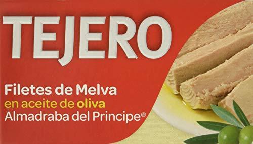 Tejero - Conserva de pescado   Melva de Almadraba en Aceite de Oliva - 5 Latas x 120 g