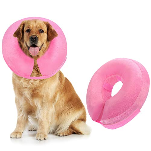 Inscape Inflatable Dog Cone for Surgery injuries