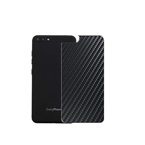 Vaxson 2 Stück Rückseite Schutzfolie, kompatibel mit Yamada Denki EveryPhone PR EP-172, Schwarz Backcover Skin Cover Haut [nicht Bildschirmschutzfolie Hülle Hülle ]