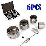 82 x 60 mm pack de 1 3 pzas Bosch 2 608 550 065 SDS-plus Juego de coronas perforadoras huecas