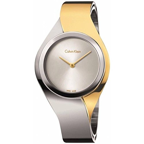 Calvin Klein Women's Analogue Quartz Watch with Stainless Steel Strap K5N2S1Y6
