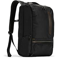 eBags Professional Slim Laptop Backpack With Leather Trim
