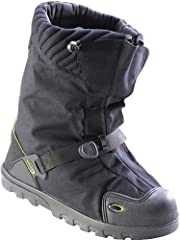 500 Denier waterproof nylon upper protects against water, snow, sleet, rain and wind; lightweight design helps prevent foot and leg fatigue 4 mm polyurethane foam insulation and 2.5 mm polyurethane inner bootie ensure warmth in extreme temperatures; ...