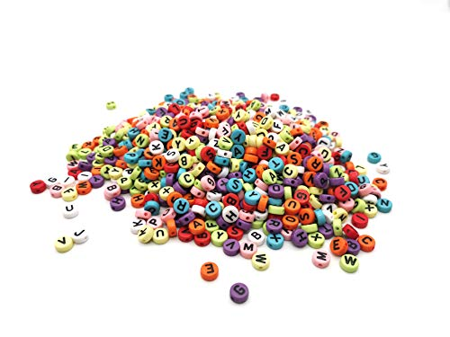 1000 Pcs Mixed Candy Colors Lett...
