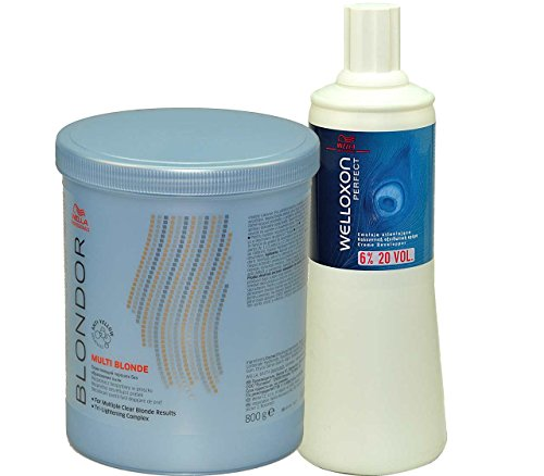 Wella Blondor SET Lightening Powder 800g + Welloxon 6% 1000ml