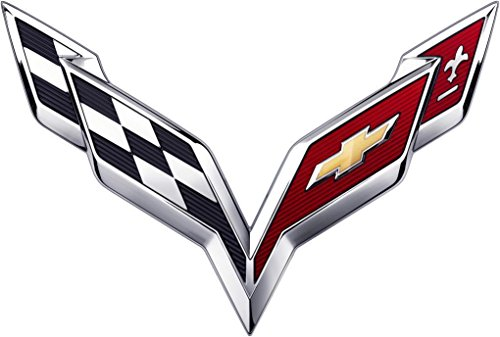corvette flag emblem - 1