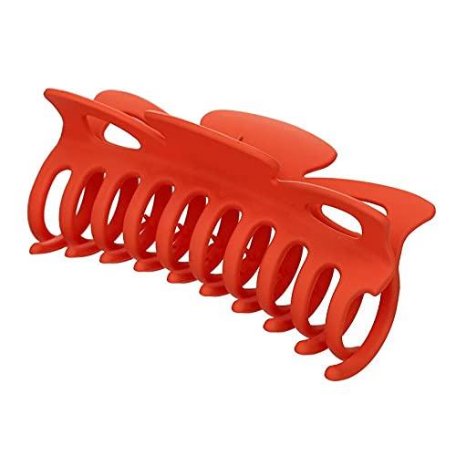 BGREWV Épingle à cheveux en forme de crabe - Simple et élégante - Accessoire pour cheveux pour filles (Couleur : A12-12 cm)