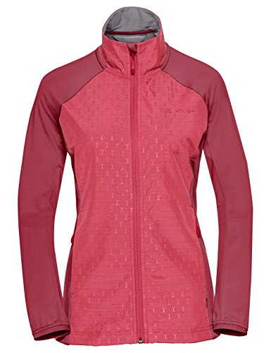 VAUDE dames Skarvan Fleece Jacket Jacket, strawberry, 38
