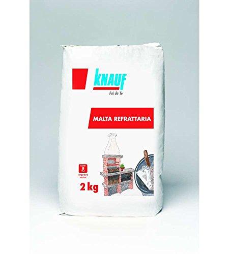 KNAUF mortel op basis van vuurvaste aggregaten voor de montage en het voegen van open haarden, schoorstenen, etc. 2 kg