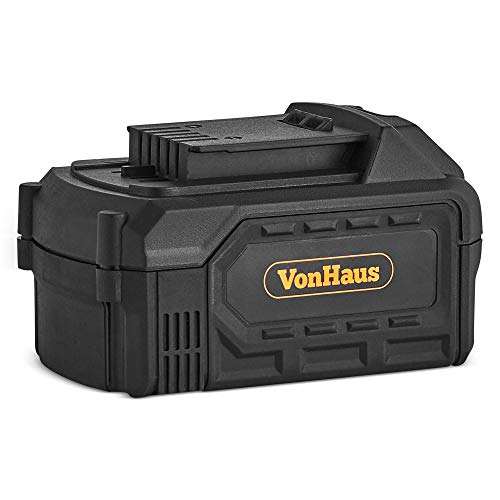 VonHaus Replacement Spare 4Ah Lithium-ion Battery for the VonHaus 18V Cordless Heat Gun 9100079 (Charger Not Included)