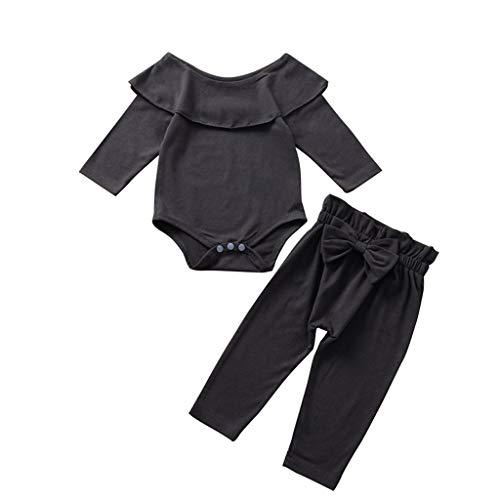 LEXUPE Baby Kleinkind Mädchen Winterjacke Kinderjacken Fell Warm Winter Coat Mantel Jacke Dicke warme Kleidung(0-24Monate)(Schwarz,90)