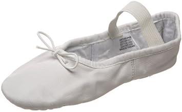 Bloch Dance Dansoft Ballet Slipper (Toddler/Little Kid),White,7.5 E US Toddler