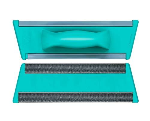 TTS Cleaning 00000887C Telaio Attrezzo Velcro 40 Cm con Dischi Tondi Fermapanno senza Manico