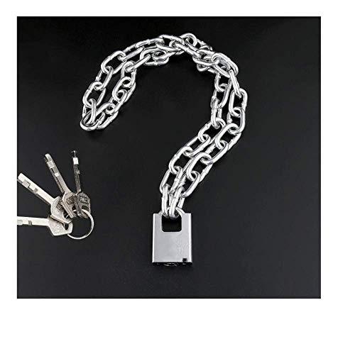 Bloqueo antirrobo de bicicleta, bicicleta de montaña, cerradura de cadena, cerradura de cadena y bloqueo de cadena de bloqueo largo, bloqueo de automóvil eléctrico, candado motorizado@3.5 m de cadena