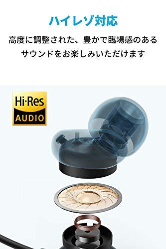 AnkerSoundcoreLifeNC(Bluetooth5.0対応ワイヤレスイヤホン)【Qualcomm®aptX™audio対応/アクティブノイズキャンセリング/ハイレゾ対応/周囲音取り込み機能/AAC&SBC対応/マイク内蔵】