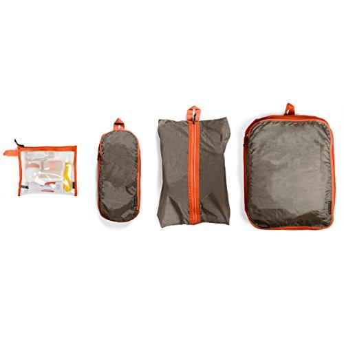 Crumpler TJP-002, Organizer per valigie Unisex, Arancione, 21 cm