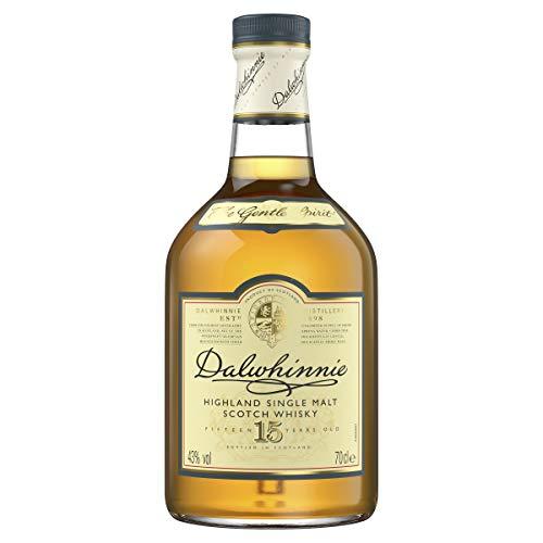 Dalwhinnie Highland Single Malt Scotch Whisky - 15 Jahre gereift - Aromen von Heidekraut und Honig - 1 x 0,7l - 2