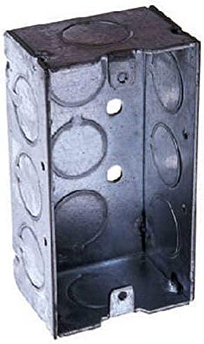 lowest Pack popular of 3 Hubbell-Raco 8670 2-1/8-Inch Deep, 1/2-Inch End outlet sale Knockouts, Welded 4-Inch by 2-Inch Handy Box outlet online sale