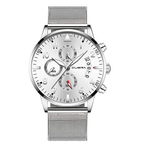 LJSGB Watch For Man Men Stainless Steel Luxury Military Analog Sport Quartz Mens Wrist Watch Best Smart Watch Hot Sales Clock