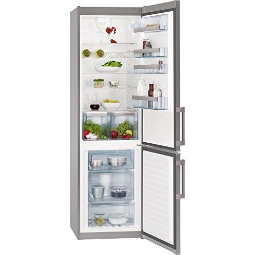 AEG S53820CTX2 Autonome A++ Argent, Acier inoxydable réfrigérateur-congélateur - Réfrigérateurs-congélateurs (SN-T, 43 dB, 4 kg/24h, A++, Argent, Acier inoxydable)