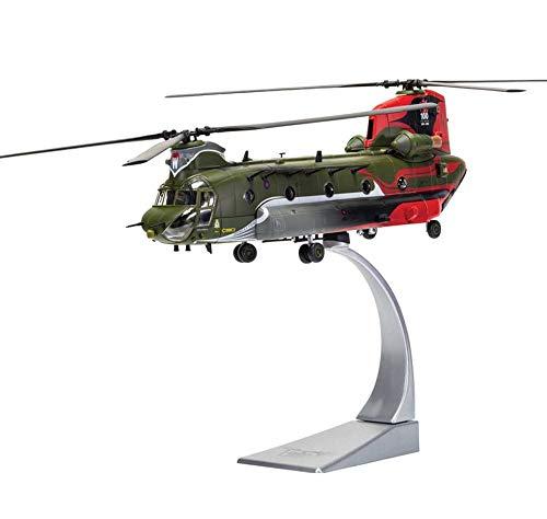 EP-Toy 1/72 Scala Militare Boeing Chinook HC.4 Elicottero Modello della Lega, Regalo per Adulti E Oggetti da Collezione, 8.7Inch X 2Inch