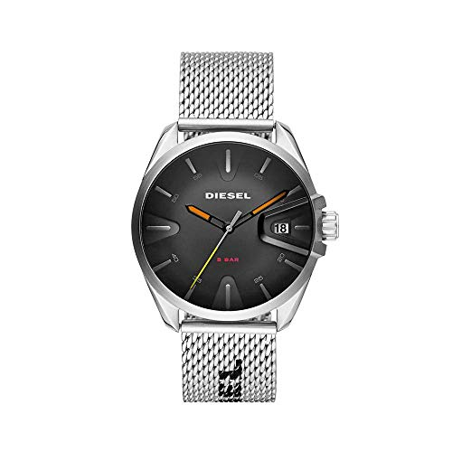 Diesel Reloj Analogico para Hombre de Cuarzo con Correa en Acero Inoxidable DZ1897